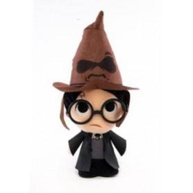 Harry Potter peluche Super Cute Harry w/ Sorting Hat 18 cm
