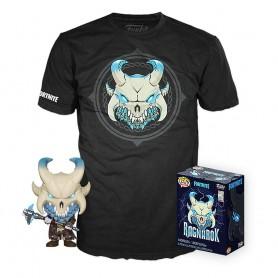 Fortnite POP! & Tee set figurine et T-Shirt Ragnarok (M)