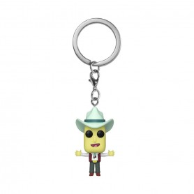 Rick & Morty porte-clés Pocket POP! Vinyl Mr. Poopybutthole 4 cm