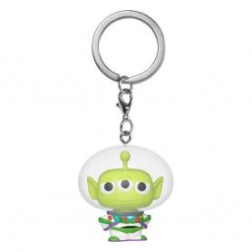 Toy Story porte-clés Pocket POP! Vinyl Alien as Buzz 4 cm