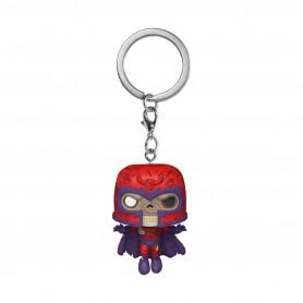 Marvel porte-clés Pocket POP! Vinyl Zombie Magneto 4 cm