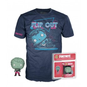 Fortnite Pocket POP! & Tee set figurine et T-Shirt Love Ranger (L)