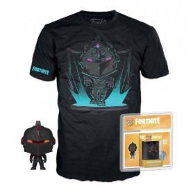 Fortnite Pocket POP! & Tee set figurine et T-Shirt Black Knight   (M)