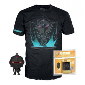 Fortnite Pocket POP! & Tee set figurine et T-Shirt Black Knight   (XL)