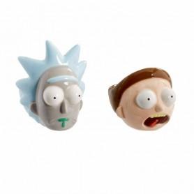 Rick & Morty pack 2 coquetiers céramique Rick & Morty