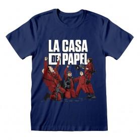 La casa de papel T-Shirt Celebrating (M)