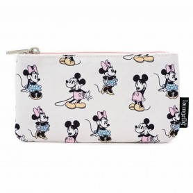Disney by Loungefly sac cosmétique Pastel Minnie Mickey AOP