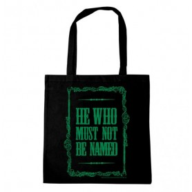 Harry Potter sac shopping He Who Must Not Be Named