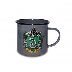 Harry Potter mug émail Slytherin Logo