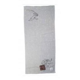 Ukiyo-e serviette de toilette Chojujinbutsugiga Giga 34 x 80 cm