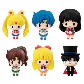 Sailor Moon Chokorin Mascot Series pack 6 trading figures 5 cm