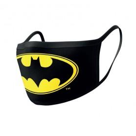Batman pack 2 Masques en tissu Logo