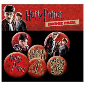 Harry Potter pack 6 badges Icons