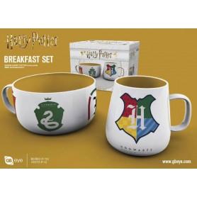Harry Potter set petit-déjeuner House Pride