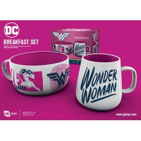 DC Comics set petit-déjeuner Wonder Woman Brave