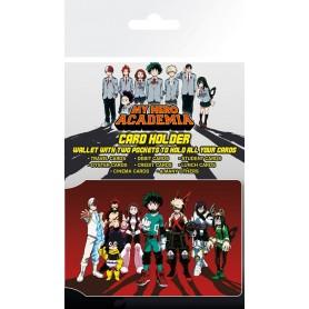 My Hero Academia assortiment étuis pour carte de transport Heroes (5)