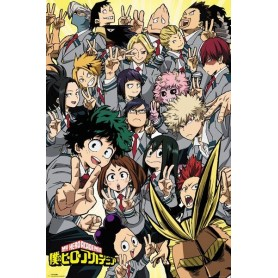 My Hero Academia pack posters School Compilation 61 x 91 cm (5)