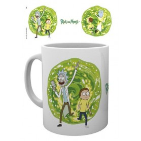 Rick et Morty mug Portal