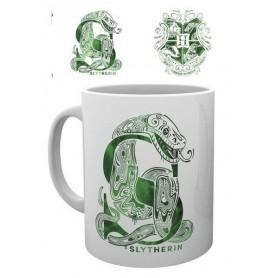 Harry Potter mug Slytherin Monogram