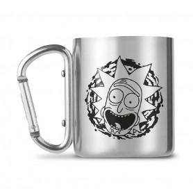 Rick et Morty mug Carabiner Rick and Morty