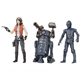 Star Wars Premium Vintage Collection pack 3 figurines Doctor Aphra Comic Set Exclusive 10 cm