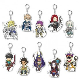 Fate/Grand Order présentoir porte-clés 8 cm Pikuriru! Vol. 6 (10)