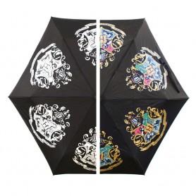 Harry Potter parapluie changeant de couleur Hogwarts Slogan