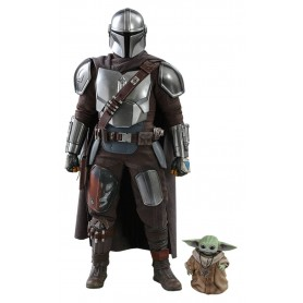 Star Wars The Mandalorian pack 2 figurines 1/6 The Mandalorian & The Child 30 cm