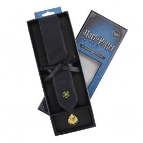 Harry Potter set cravate & badge Hogwarts