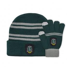 Harry Potter set bonnet & mitaines enfant Slytherin