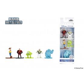 Disney pack 5 figurines Diecast Nano Metalfigs Disney Pixar 4 cm