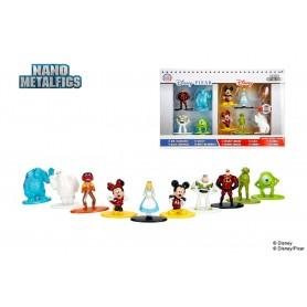 Disney pack 10 figurines Diecast Nano Metalfigs Wave 1 4 cm