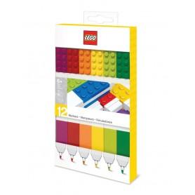 LEGO set de 12 feutres Bricks
