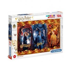 Harry Potter - Puzzle 104 pièces Harry, Ron Weasley et Hermione Granger