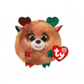 Peluche Puffies TY - FUDGE NOEL