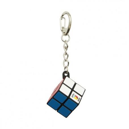 Porte-clés cube simple - Attache mousqueton