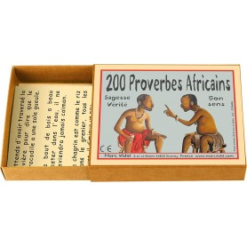 Boite 200 proverbes africains - Marc Vidal