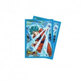 Protège carte DRAGON BALL SUPER - Goku Blue (65ct) x5 -  City Geek