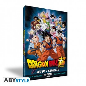 Jeu de carte DRAGON BALL SUPER JEU DE 7 FAMILLES - City Geek