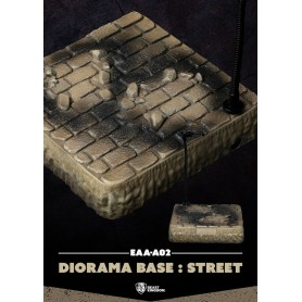 Egg Attack Action socle pour figurines Diorama Base Street