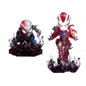 Marvel Comics pack 2 figurine Mini Egg Attack Maximum Venom Special Color SDCC 2020 8 cm