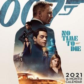 James Bond calendrier 2021