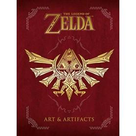 The Legend of Zelda livre Art & Artifacts *ANGLAIS*