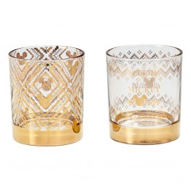 Disney pack 2 verres Tumbler Gold Mickey