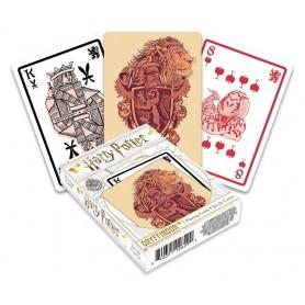 Harry Potter jeu de cartes à jouer Gryffondor