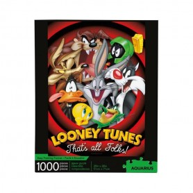 Looney Tunes puzzle That's all folks (1000 pièces)