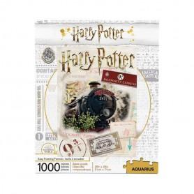 Harry Potter puzzle Poudlard Express Ticket (1000 pièces)