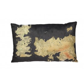 Game of Thrones oreiller Westeros Map 55 cm