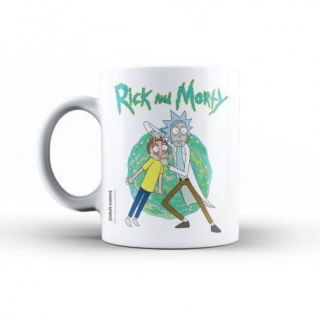 Rick & Morty mug Open Your Eyes