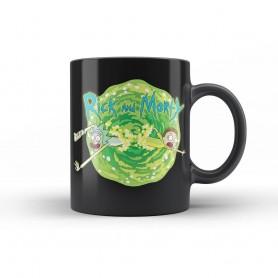 Rick & Morty mug Logo